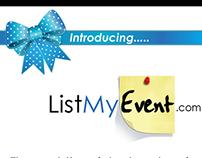 List My Event Internship