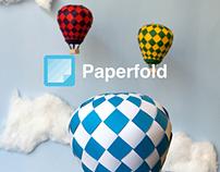 Paperfold App Splash Screen