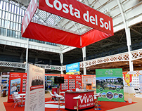 Exhibition Stand Design - A Place in the Sun, UK