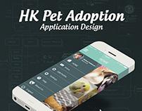 HK Pet Adoption App Design