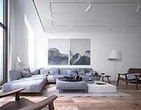 New Apartment with mezzanine