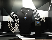 Bloomingdales Dubai - Fine jewellery window