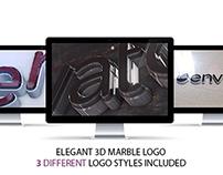 Elegant 3D Marble Logo