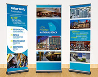 Construction Event Pull Up Banners