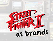 Street Fighter II - as brands
