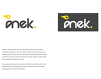 Mek Outdoor Clothing Branding
