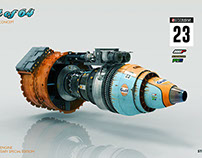 Racing jet engines