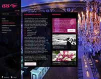 Isis Events Website