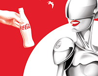 Self promotional Coke poster