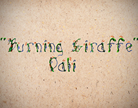 Burning Girraffe (Salvador Dali) Font Type