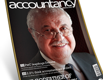 Magazine Concept Design - Accountancy Middle East