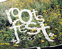 Roots Fest Poster and Logo