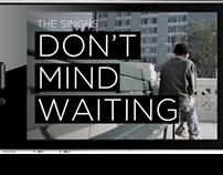 don't mind waiting/ interactive IPAD interface