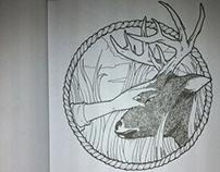 Outline study - Sketch Book