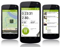 Endomondo Android Design