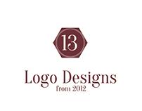 13 Logo Designs from 2012