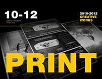 Print Ads 2010-2013