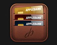 iOS wallet icon