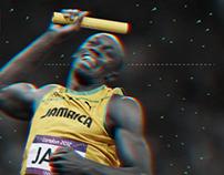 Usain Bolt - infography