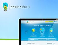 Z A O M A R K E T | Web design