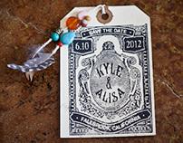 Kyle & Alisa Wedding Save The Date