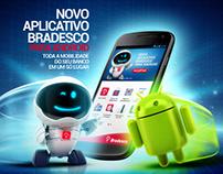 Lançamento Aplicativo Bradesco Android