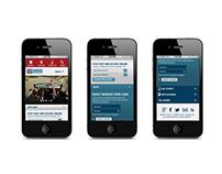 PioneerServices.com Web Redesign Concept