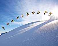 Action sports: Allinone sequence photos