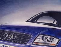 Audi TT - Marker Rendering