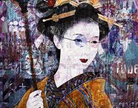 Geisha Under The Glass