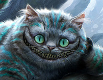 Alice in Wonderland - Character Designs