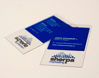Sherpa Marketing Business Cards