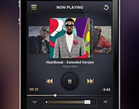 iOS Music Player App