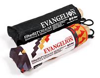FILTER017 X  EVANGELION - EVA02 & ANGELS UMBRELLA