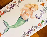 Under the Sea! (Vanessa turns 3) Invitations