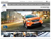 Subaru Canada Website