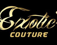 """Logo Design for """" Exotic Couture """""""
