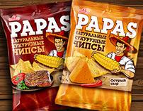"Tortilla Chips ""Papas"""