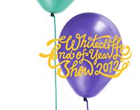 Whitecliffe Graduation Show 2012