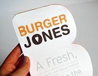 Burger Jones Menu Redesign