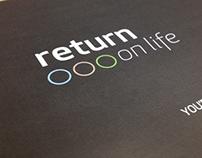 """Technogym: """"Return on Life"""" Brochure"""