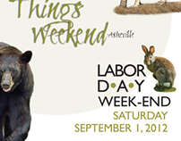 Poster to promote 'Wild Things' event by Wild South.org