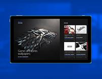Behance Windows 8 App