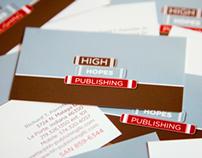 High Hopes Publishing Identity & Website