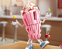 CCAA KIDS - Milk Shake