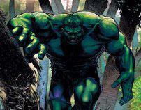 Incredible Hulk Covers
