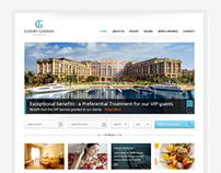 Hotel Website PSD Template