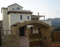 Residence in Arahovitika, Greece.
