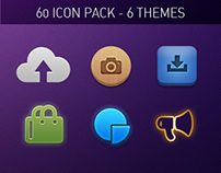 Icon Pack for Mobile & Web Apps