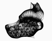 Dog (portrait)